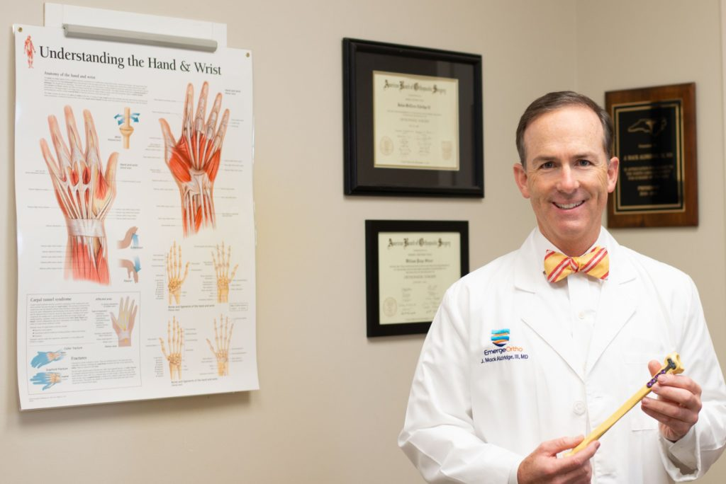 Dr. Aldridge authors for the Journal of Shoulder and Elbow Surgery
