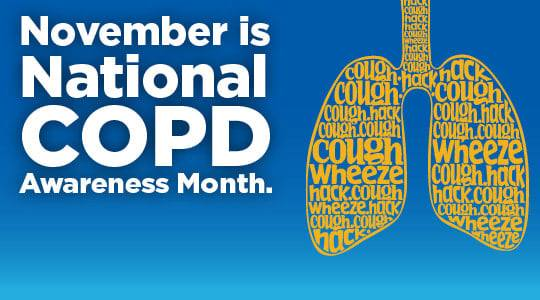 November is National COPD Awareness Month